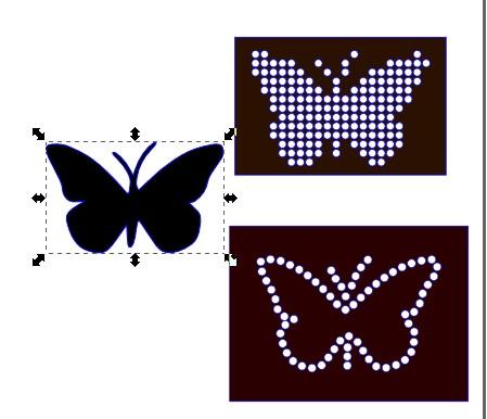 [Inkscape] Vidéo Créer facilement des gabarits pour Strass  Papillon